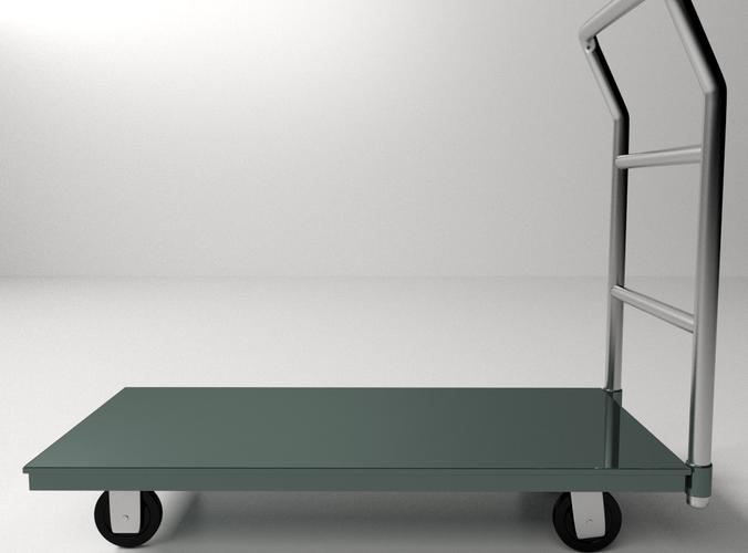 Platform Hand Truck3D model