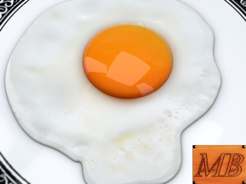 Fried eggs on a glass plate (Flip 2019) - Creative Commons ...  |Fried Eggs On A Plate
