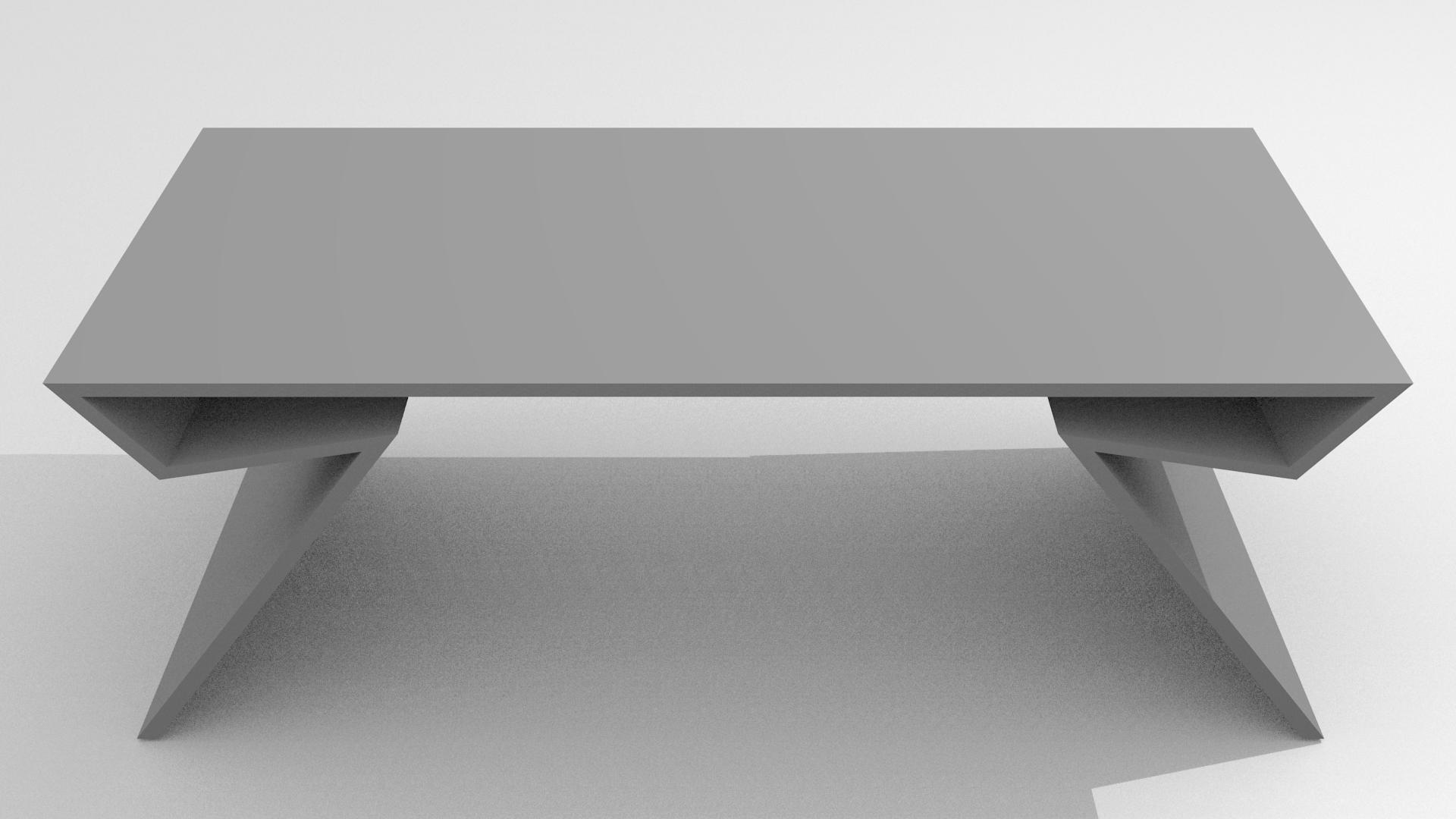 Modern Table Free D Model Obj Blend Dae Mtl