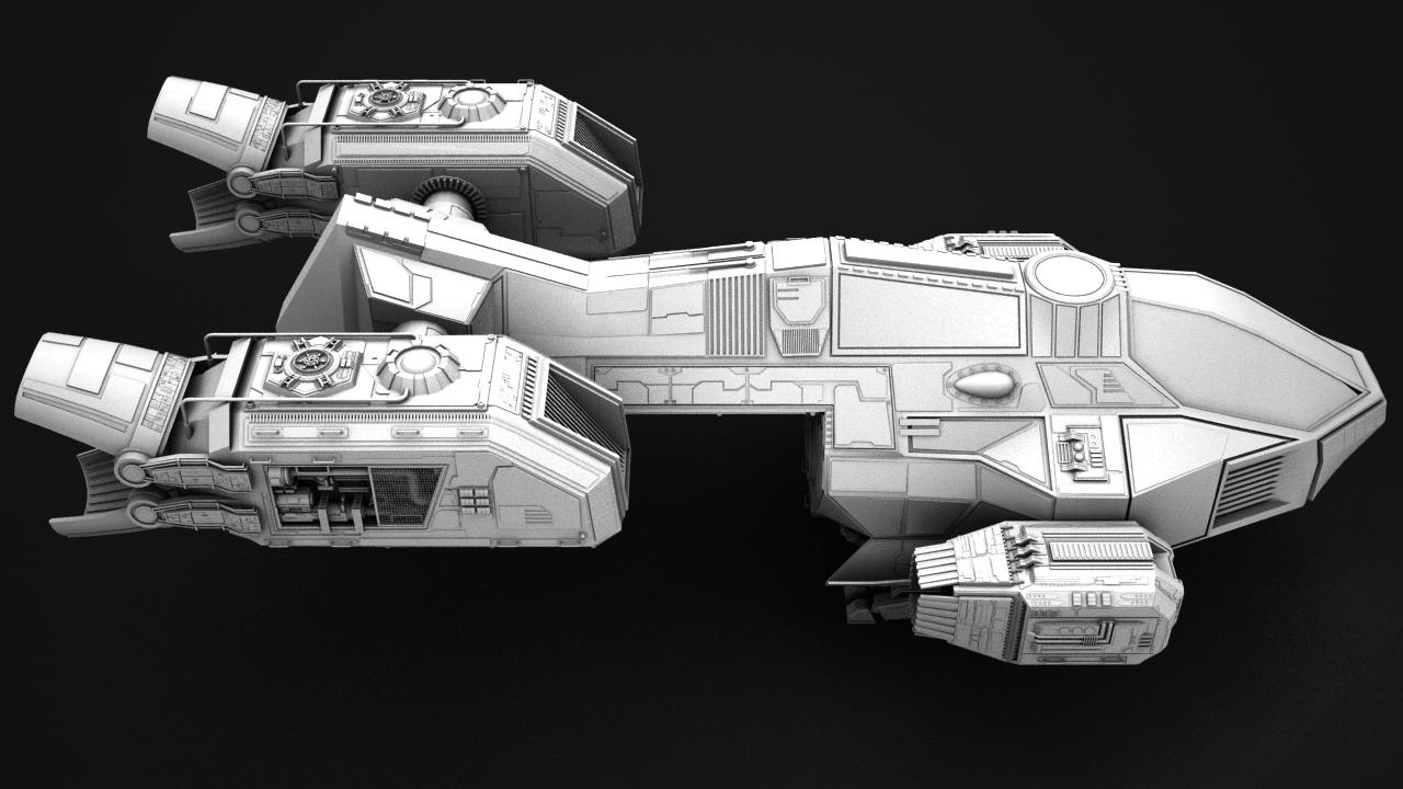 Small transport ship 3D Model .max - CGTrader.com