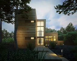 Photorealistic House Collection 3D model