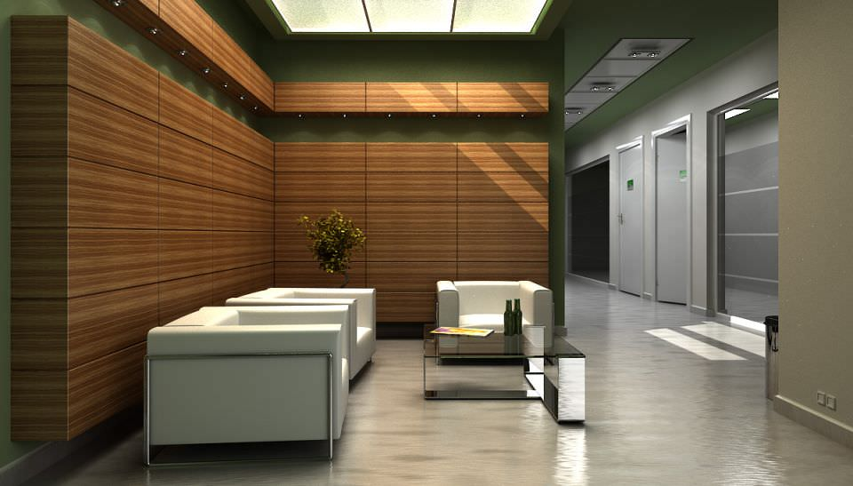 office lobby. Modern Office Lobby With Chairs And Sofa Archinteriors Vol 8 3d Model Max 1
