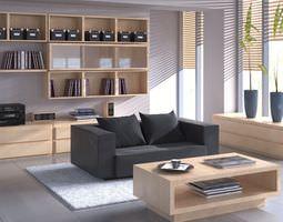 3d modern scandinavian flat interior archinteriors vol 15