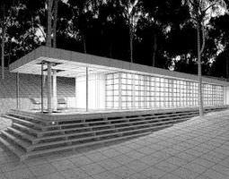 Photorealistic House Scene 3D model