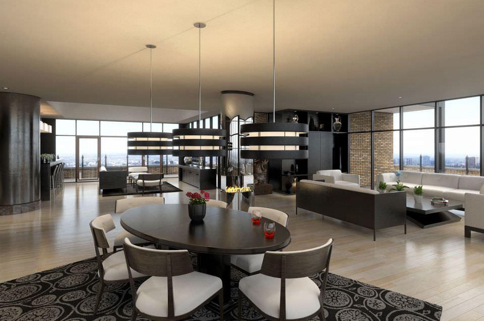 modern living room scene 3d | cgtrader