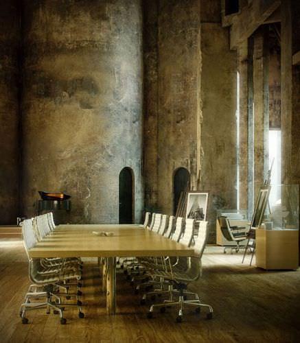 Steampunk Artsy Interior Of A Meeting Room3D model
