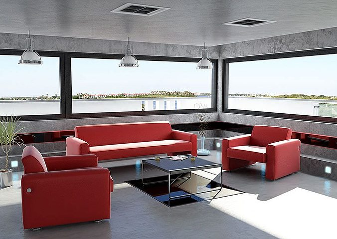 furniture collection 3d model obj 1