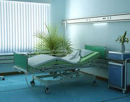 Hospital Equipment Collection 3D