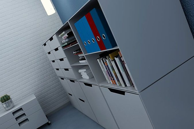 office furniture collection 3d model  1