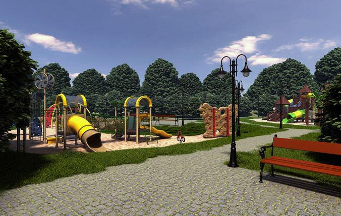 Parks And Recreations Collection3D model