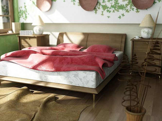 realistic beds collection 3d model obj 1