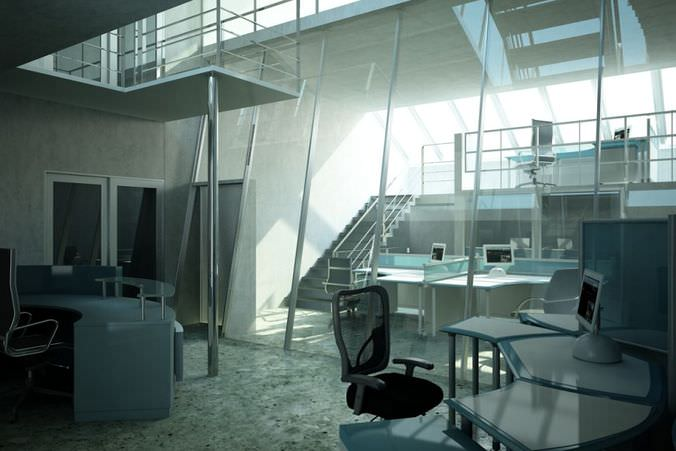 Office Furniture Collection3D model