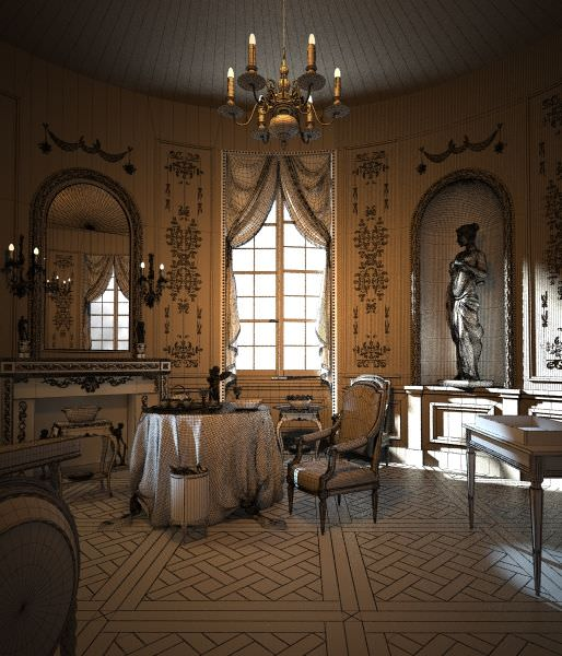 Anime Royal Dining Room