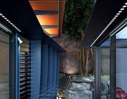modern Modern Hall 3D model