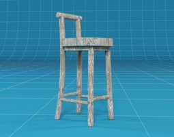 Barhocker 3d models download 3d barhocker files for Barhocker 3d model