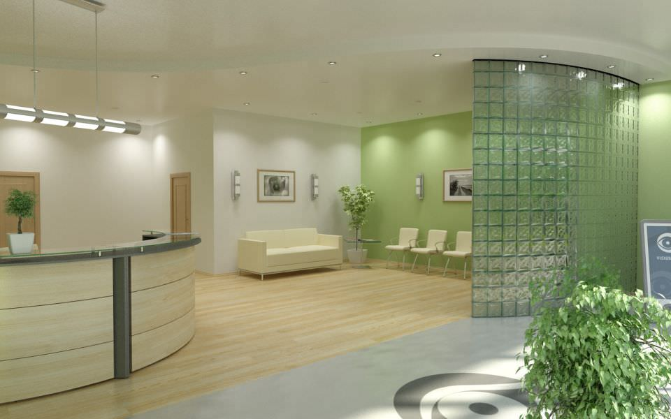 Incroyable Office Waiting Room 3d Model Max 1 ...