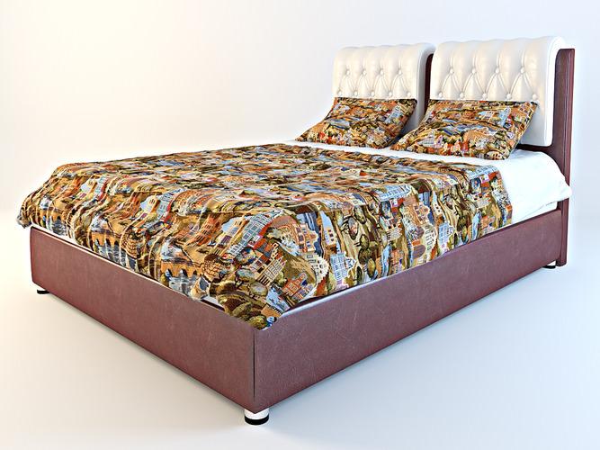 Bed Veda 53D model