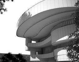 3D model architectural Modern Building