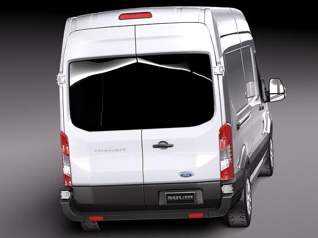 Ford Transit High Van 2014 3D model