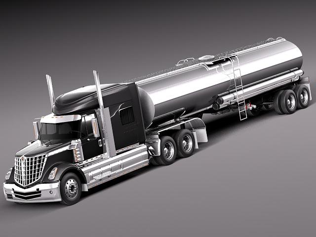 International Lonestar 2014 Tanker Truck