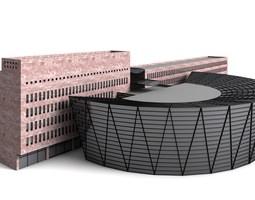 The Central Library Dortmund - 3D Building Models