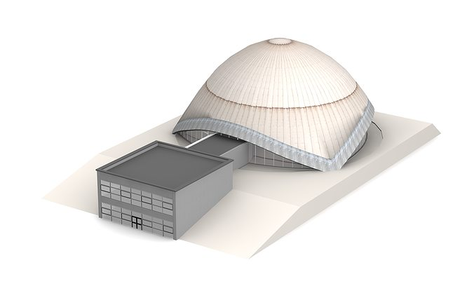 planetarium bochum 3d model max 3ds c4d dae skp 1