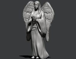 Angel Sculpture 3D printable model