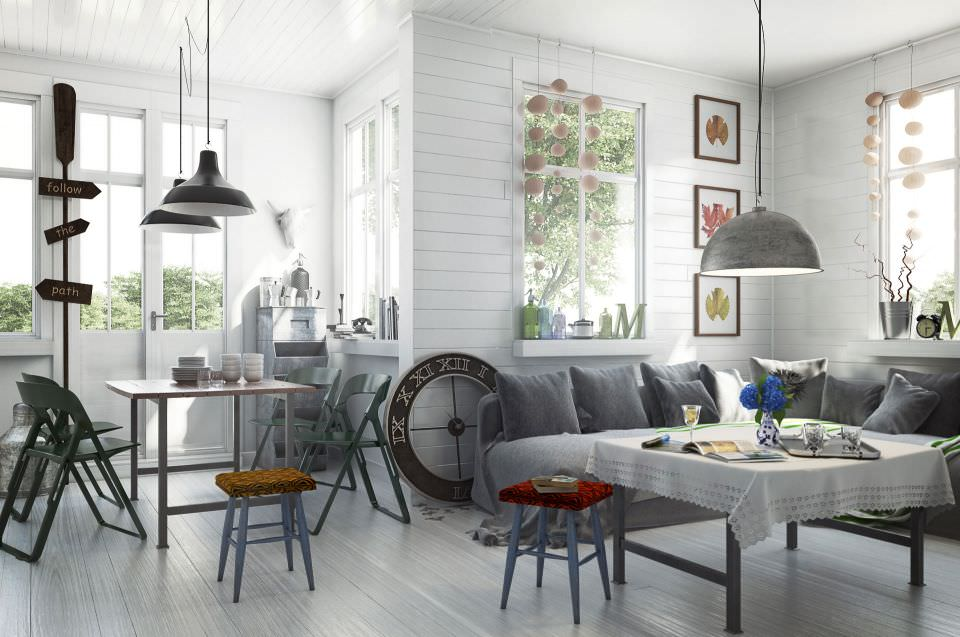D Coration Int Rieure Scandinave Pictures To Pin On Pinterest