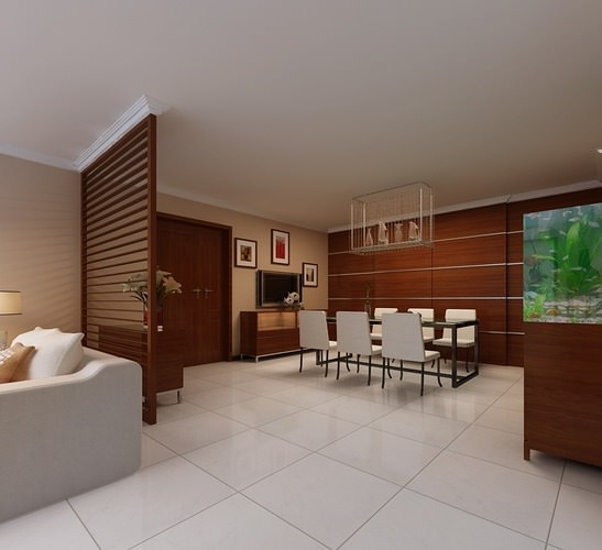 Comfortable Dining Room: Comfortable Living And Dining Room Fully Furnished