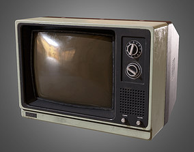 3D model Television - PBR Game Ready