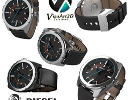 Man Diesel Watch 2 3D Model