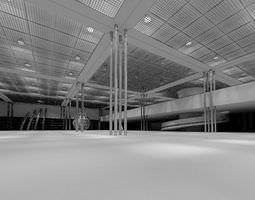 3D Vast Semi Open Space Arena