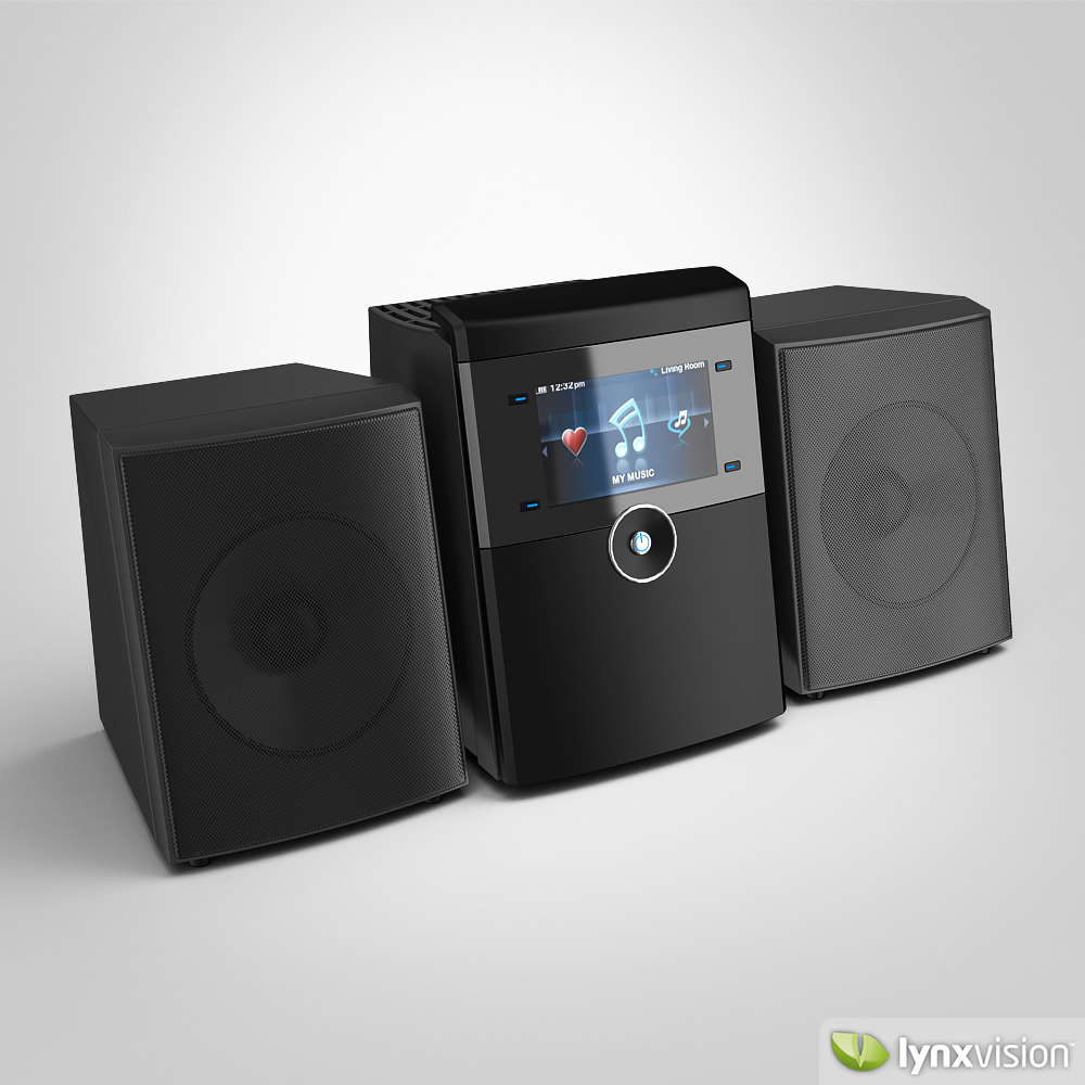 Linksys Wireless Home Audio Systems 3d Model Max Obj