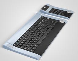 Logitech DiNovo Keyboard 3D model