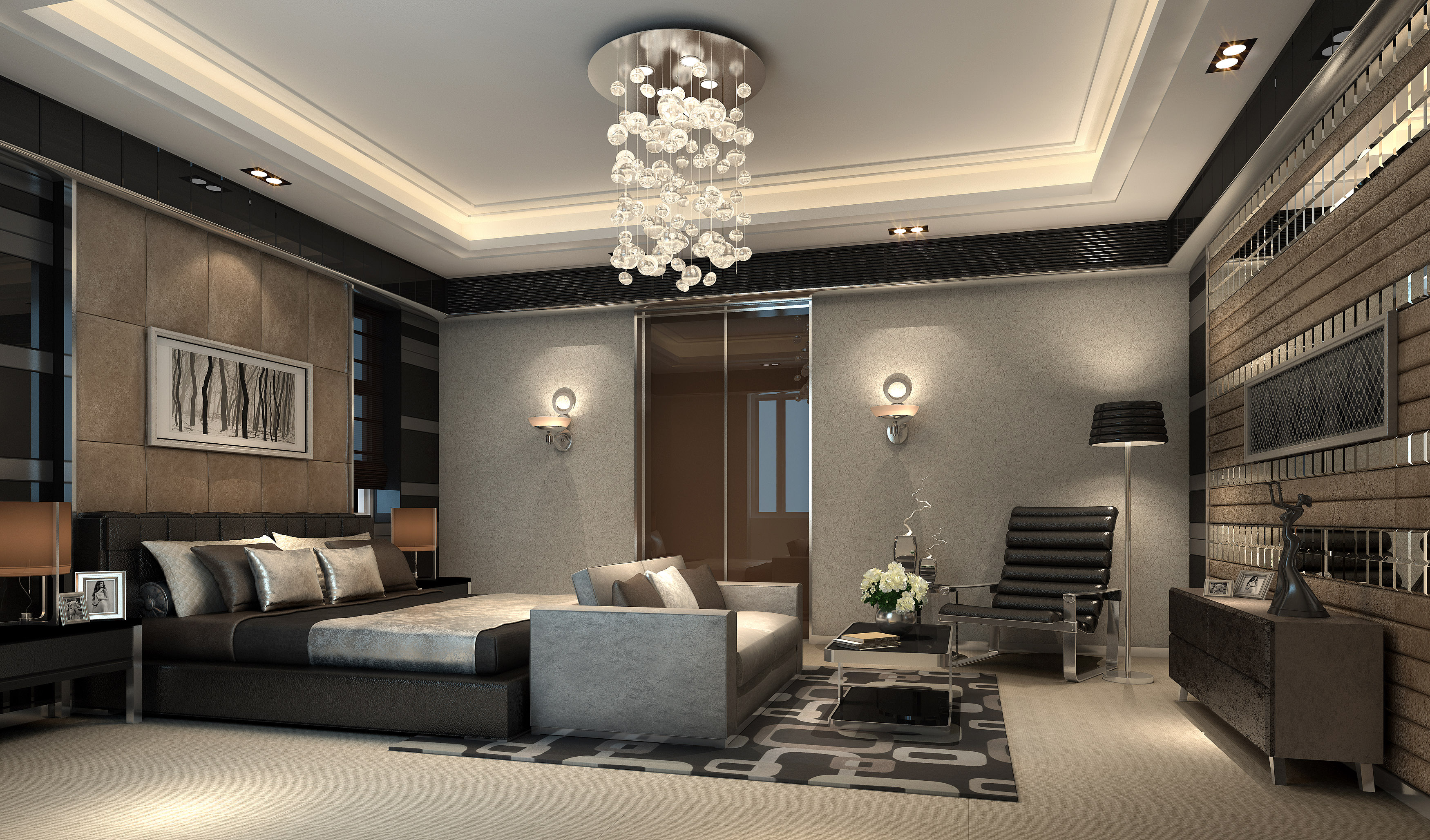 Kids Bedroom 3d Model luxurious bedroom with big bed fully furnished 3d model max