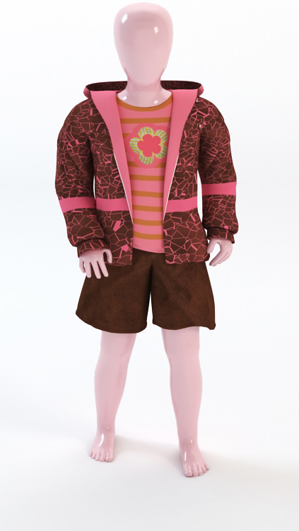 child clothing store display mannequin 3D Models ...