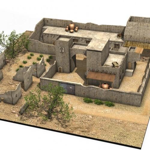 Arab Building3D model