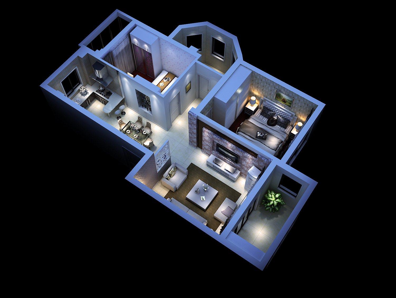 Interior house model