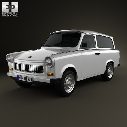 Trabant 601 Kombi 19653D model