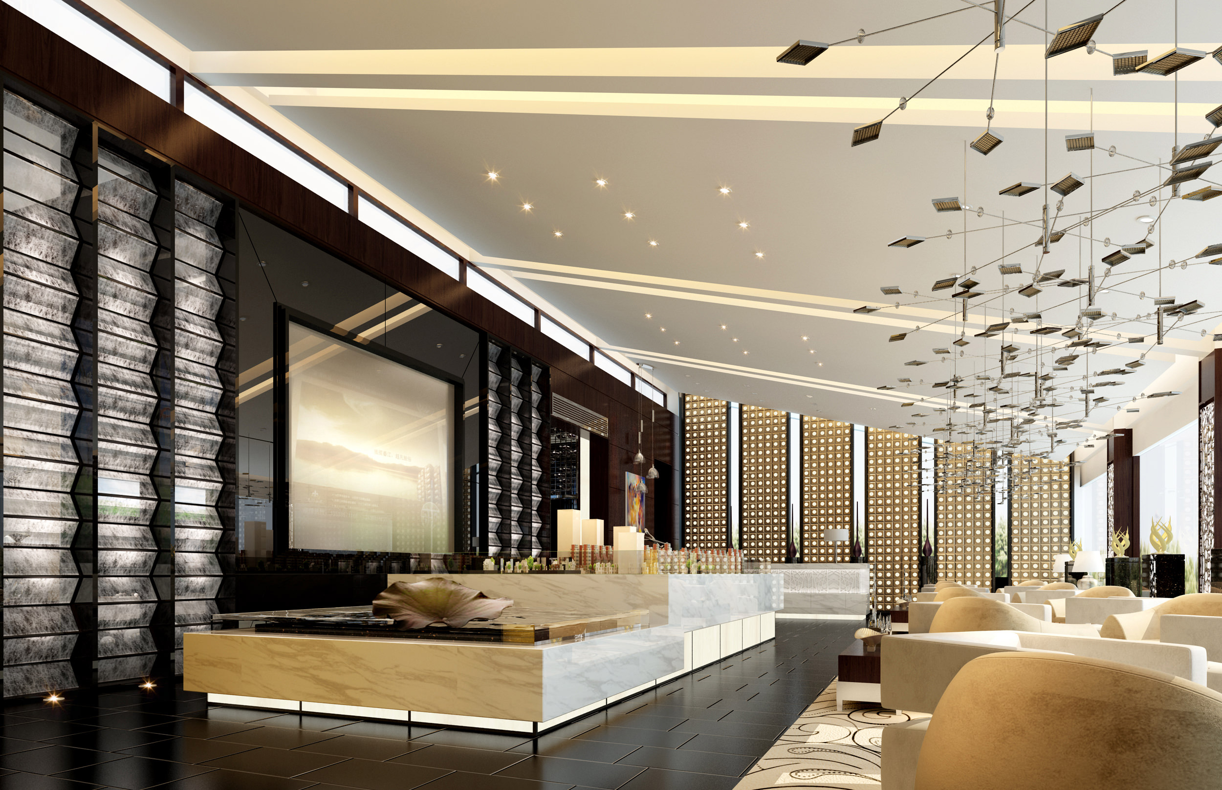 Charming ... Collection Mixed Interior Collection 3d Model Max 10 ...