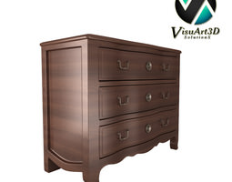 furniture 6 Dresser 3D Model