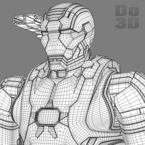 free coloring pages of iron man mark 42