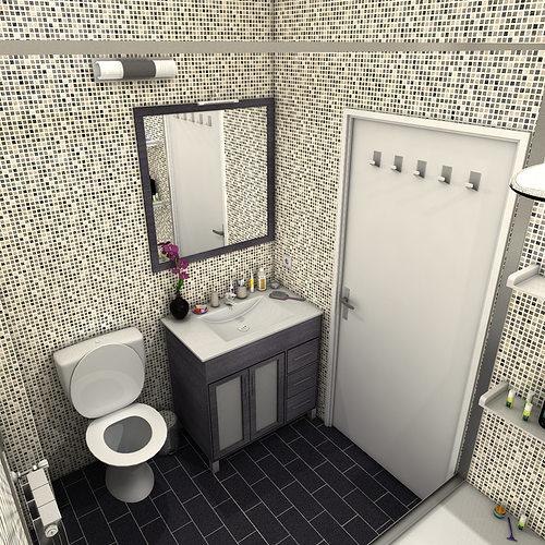 Bathroom 3d model max obj 3ds fbx c4d ma mb for New bathroom models
