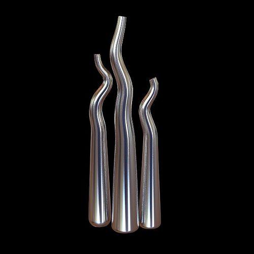 modern vase set 3d model max obj 3ds fbx mtl. Black Bedroom Furniture Sets. Home Design Ideas