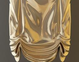 3D Roman Shade Window Curtain