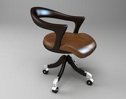 Marlowe Ceccotti Collezioni Chair 3D