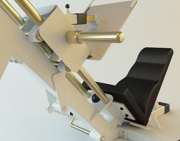 Exercise Machine 3 3D model