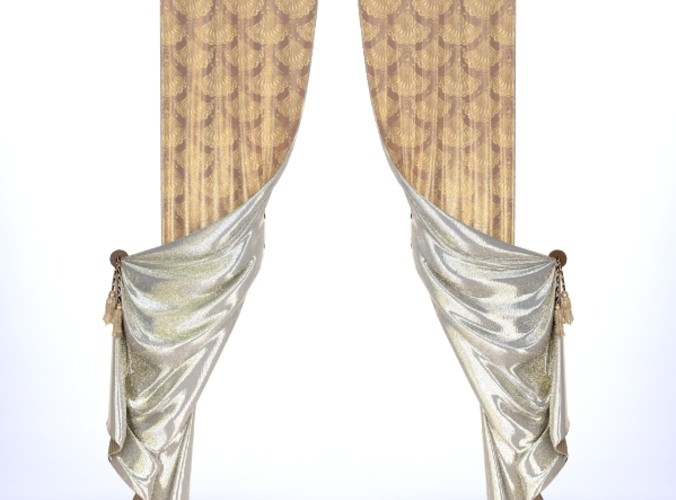 Classical Curtains - 23D model