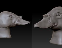 Duck head #2 3D Model