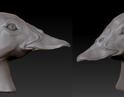Duck head #1 3D Model